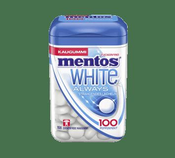 Mentos Kaugummi  100 White Peppermint