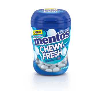 MENTOS CHEWY & FRESH EUCALYPTUS MENTHOL