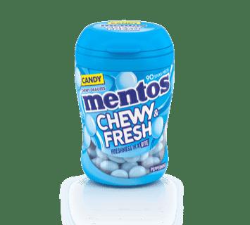Mentos Chewy & Fresh Menthe Poivrée