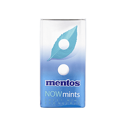 Mentos Now Mints Sweet Mint
