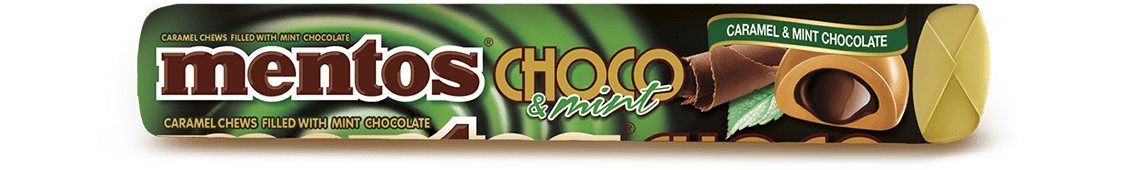 MENTOS CHOCO & MINT ROLL