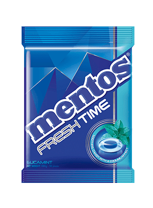 MENTOS FRESH TIME EUCAMINT