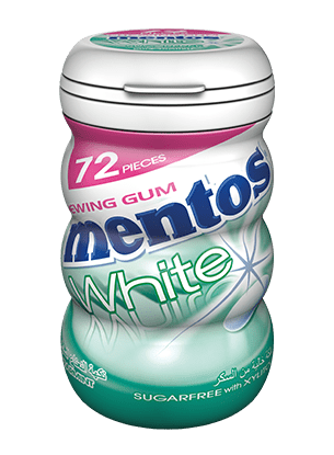 Mentos White Gum - Spearmint