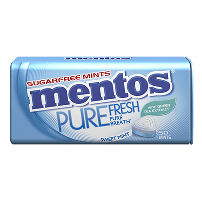 Mentos Pure Fresh Sweet Mint Tin
