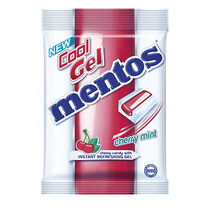 Mentos Cool Gel Cherry Mint