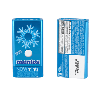 Mentos Hard Mints Fresh Mint