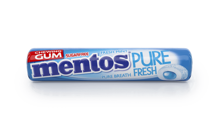 Mentos Gum Pure Fesh Fresh Mint 9p