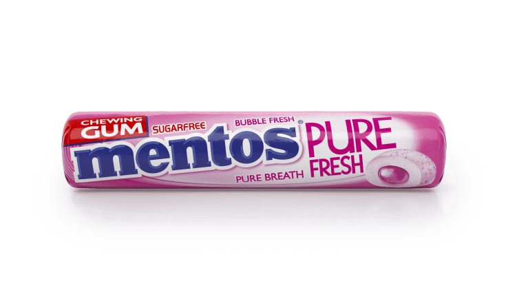 Mentos Gum Pure Fresh Bubble fresh 9p
