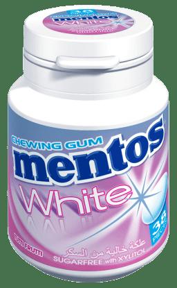 Mentos Gum White Tutti Frutti 38p