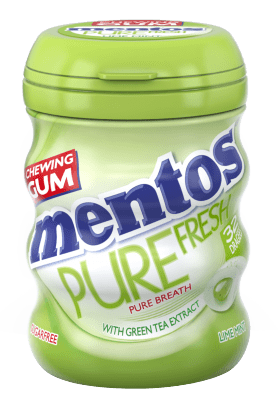 Mentos Gum Pure Fresh Wintergreen 32p