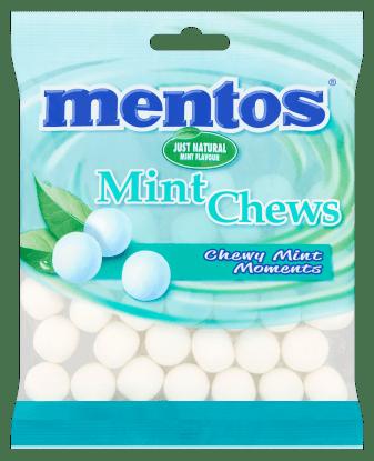 mentos mint chews