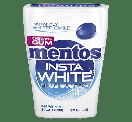 Mentos Gum Insta White