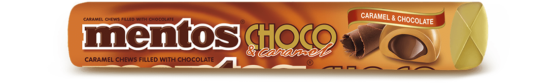 MENTOS CHOCO & CARAMEL ROLL