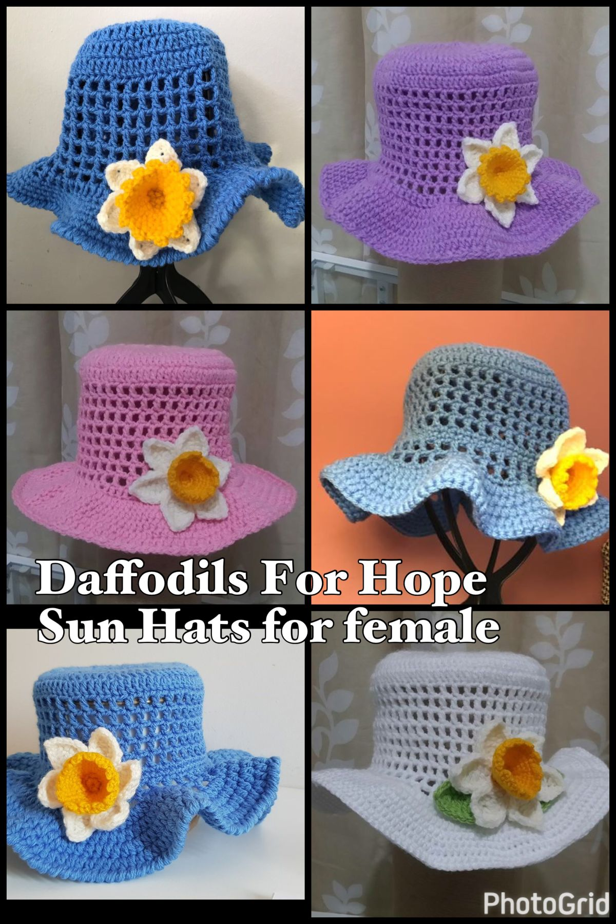 Daffodils For Hope By Fun Hats Group