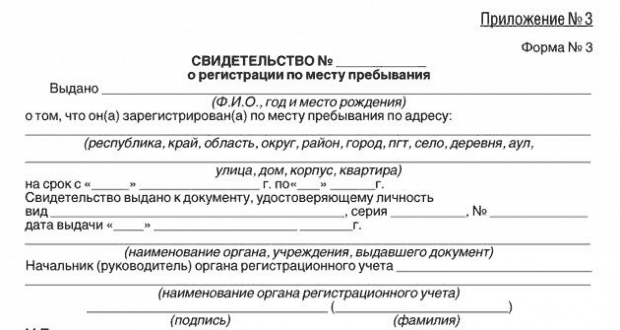 Какие документы нужны для проживания в москве