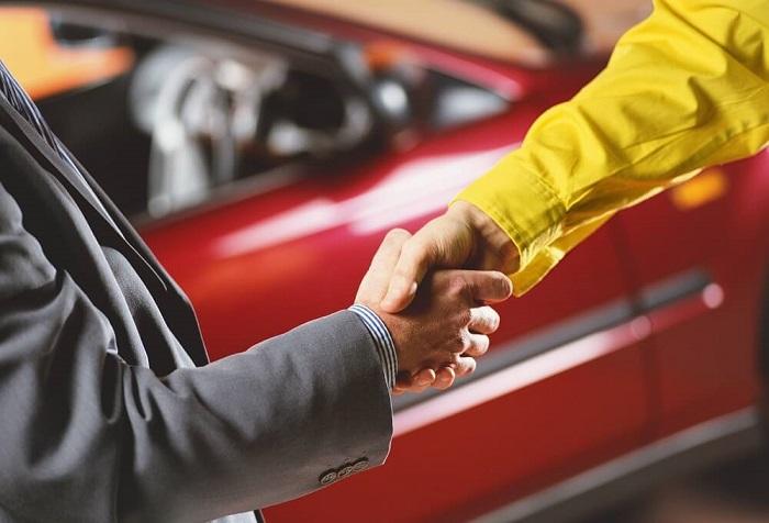 Как купить машину если она в собственности у 4 человек по наследству