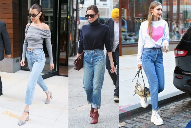 Хейли просто обожает эти джинсы! Самые стильные выходы