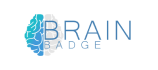 Brain Badge Logo