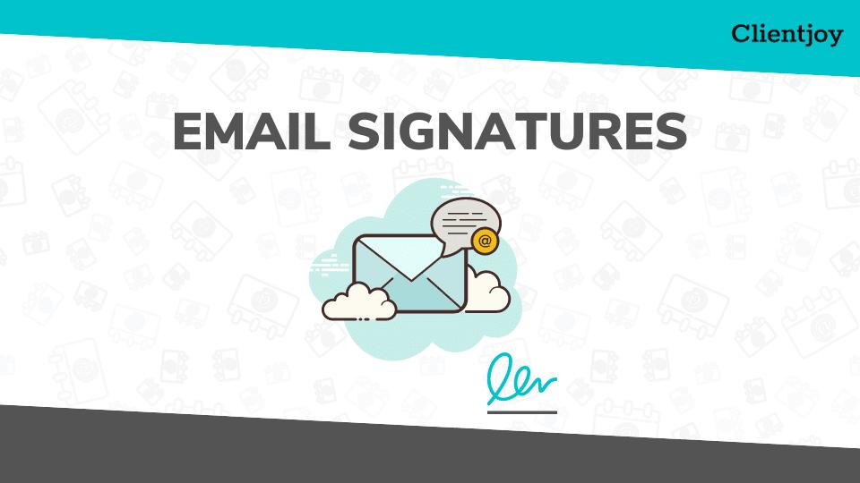 Email Signatures Generator Banner