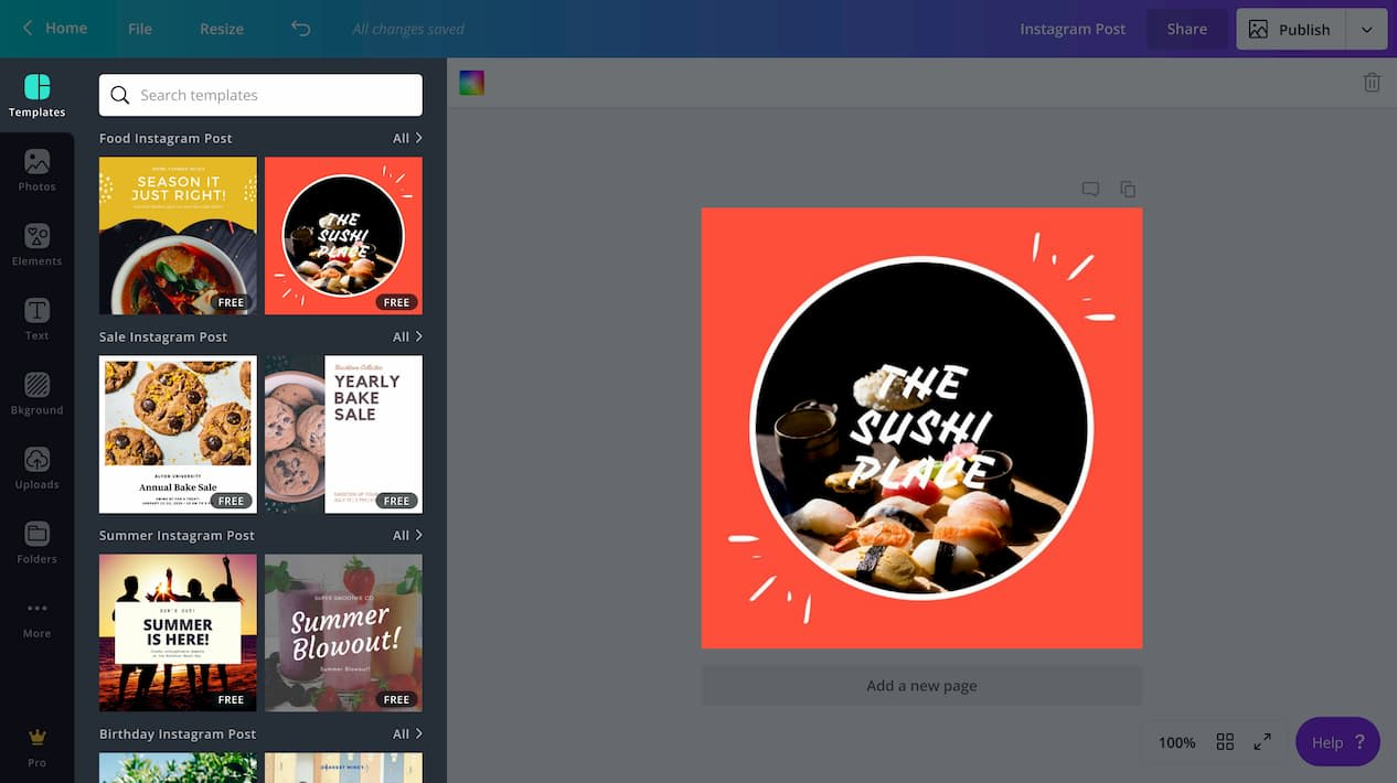 Canva Tool For Stunning Visual Content