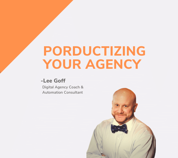 Productize Your Agency