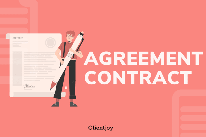 Agreement Contract Banner