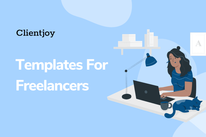 Must have templates for freelancers