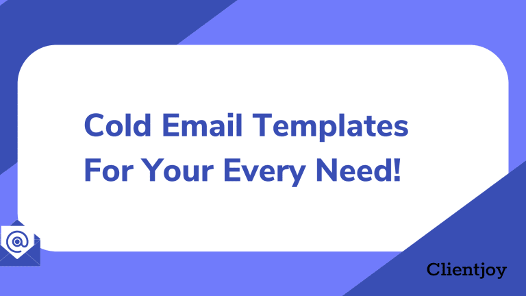Cold Email Templates -1