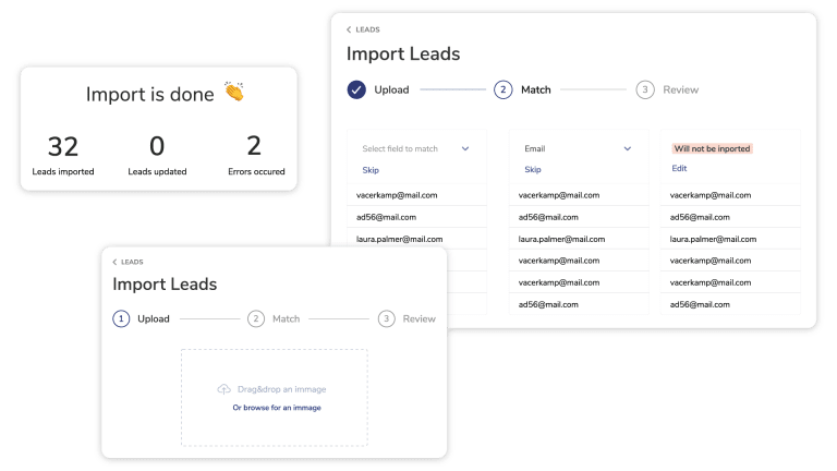 import your leads with clientjoy