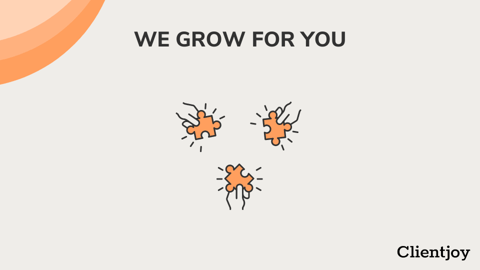 Our growth- collaborative approach- clientjoy