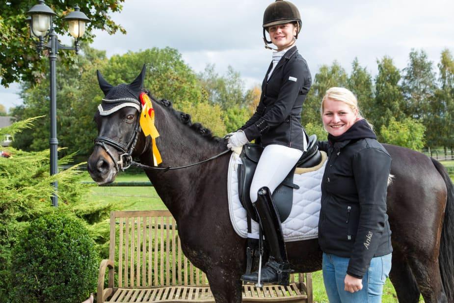 Gewinnerin Finale Dressur-Cup 2017: Julia Groß Weege