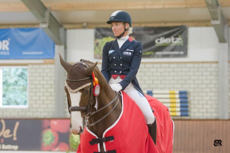 Siegerin Kurz Grand Prix: Ingrid Klimke mit Geraldine