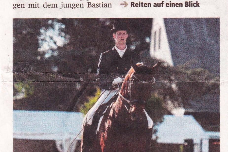 Nabbens Beppo trotzt der Sonne des Münsterlands