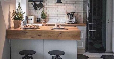 17 thiết kế bếp đẹp hiện đại cho nhà nhỏ