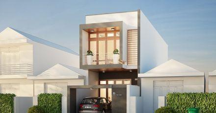Chiêm ngưỡng những mẫu nhà phố 2 tầng tuyệt đẹp
