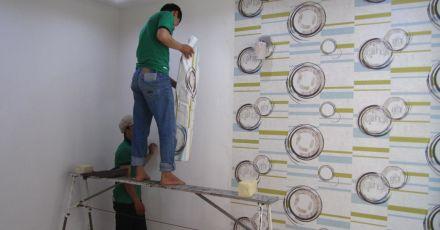 Nhận thiết kế thi công giấy dán tường uy tín và chuyên nghiệp