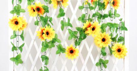 Ý nghĩa từng loài hoa trong nghệ thuật trang trí ban công bằng hoa giả