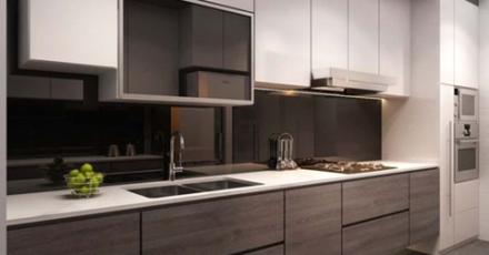 Thi công tủ bếp gỗ tự nhiên với 7 thiết kế tuyệt vời đến từ chuyên gia