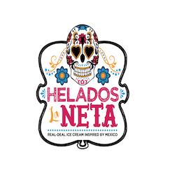 Helados La Neta logo