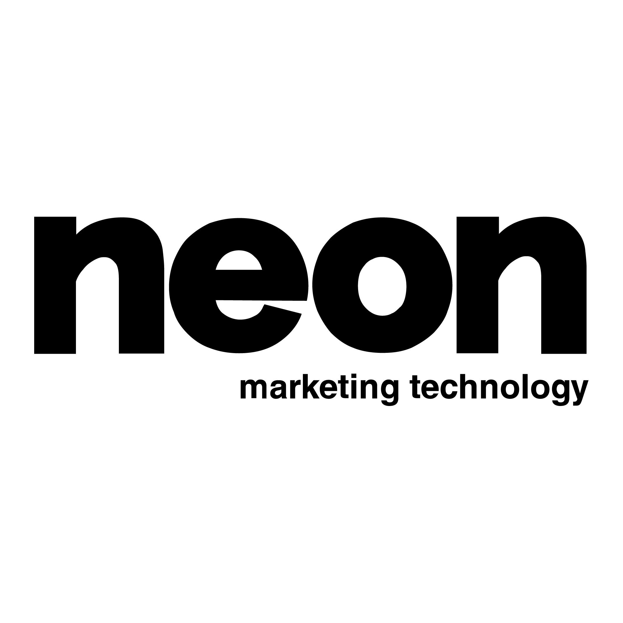 neon marketing technology logo
