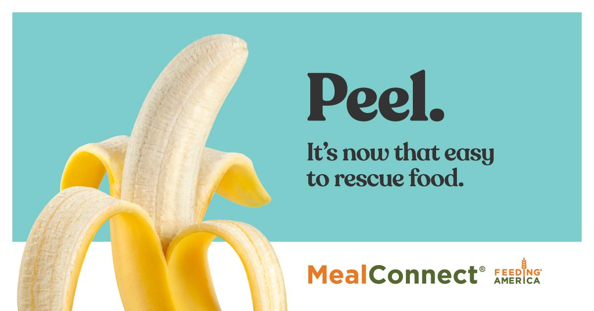 Feeding America, MealConnect header image
