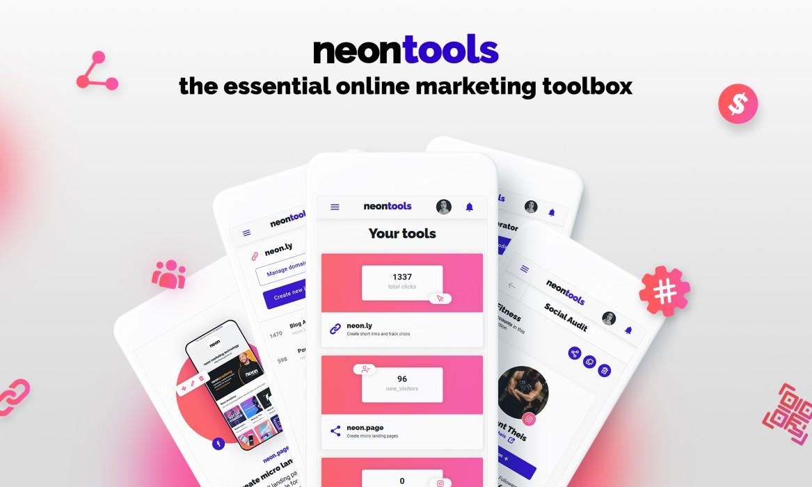 neon marketing technology header image