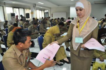 Pelaksanaan Ujian Dinas Tingkat I dan II Tahun 2019