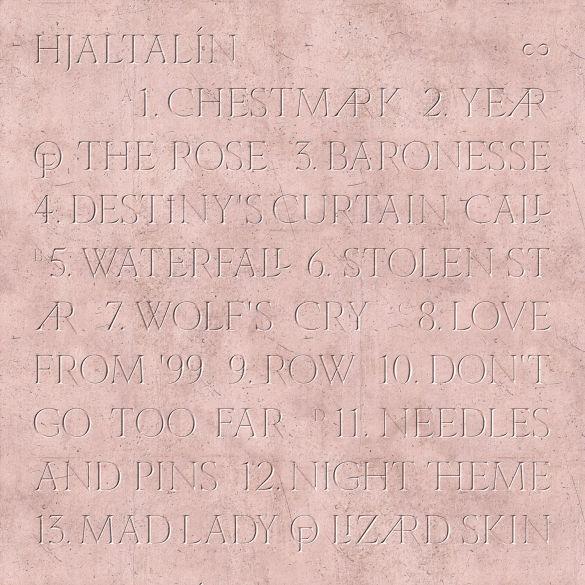 Hjaltalín back of album cover
