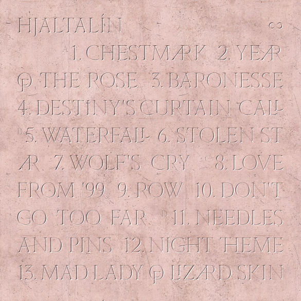Hjaltalín back of album cover