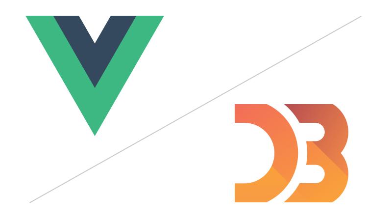 D3.js and Vue.JS