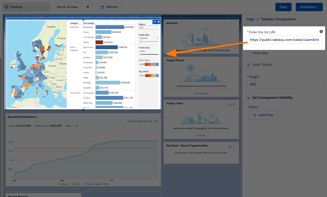 Embed LWC in Salesforce
