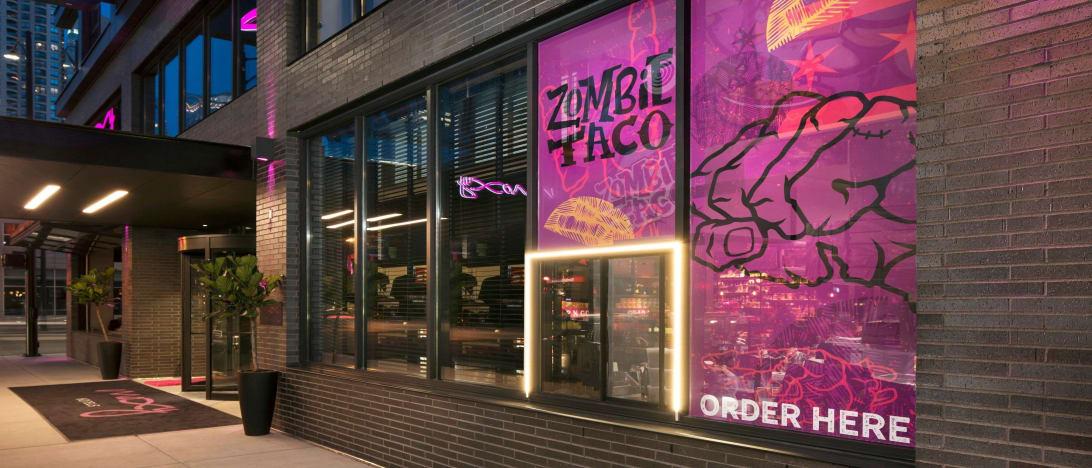 Zombie Taco Street View
