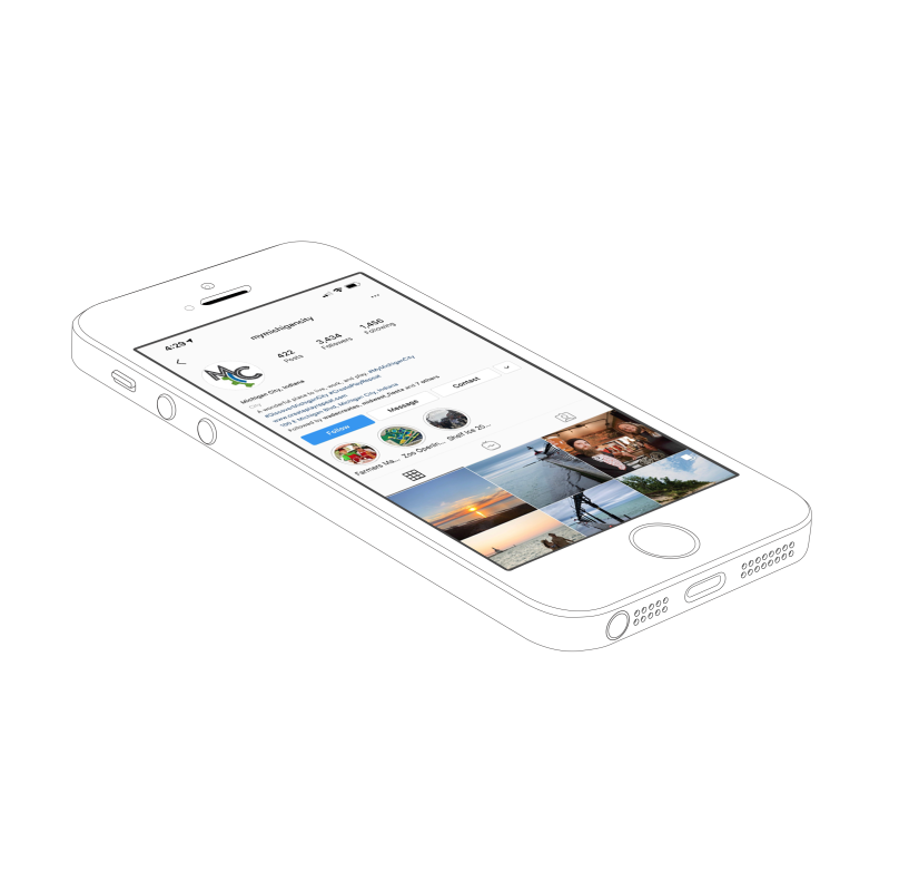 Iphone MC mockup