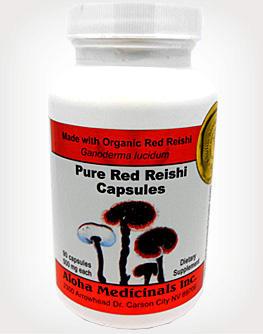 Red Reishi Organic Ganoderma Lucidum